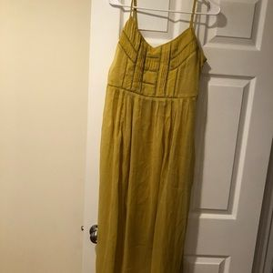 Forever21 size L yellow dress